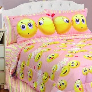 Veratex Emoji 4-piece Comforter Set