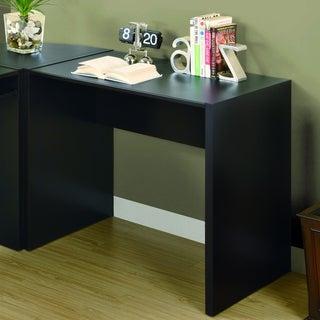 Cappuccino Hollow-Core Computer Desk