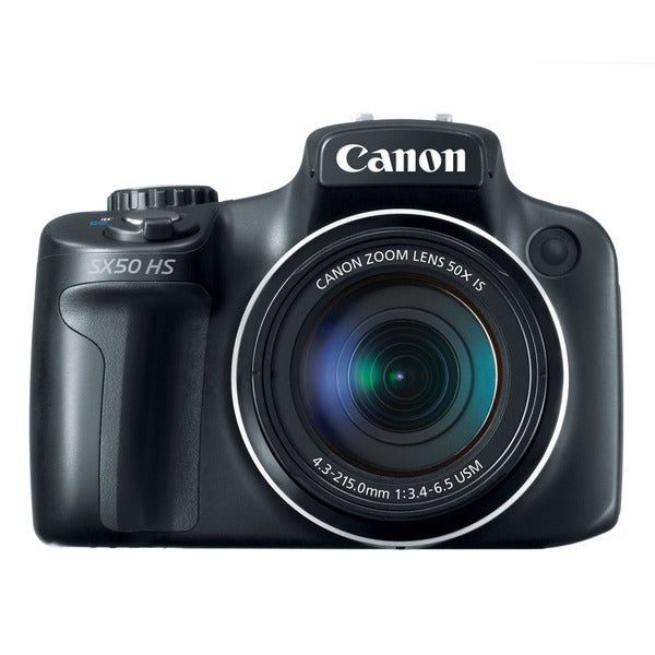 Canon PowerShot SX50 12.1MP Black Digital Camera