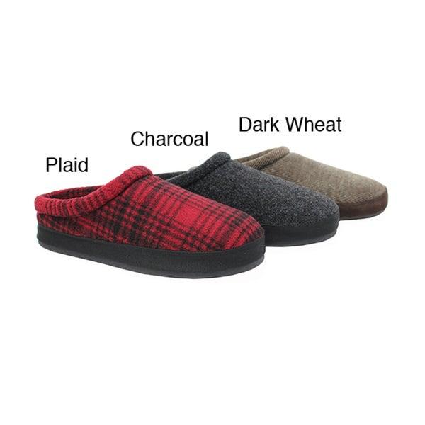 Woolrich Men's 'Mowhawk' Fleece Clog Slippers