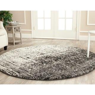 Safavieh Deco Inspired Black/ Grey Rug (6' Round)