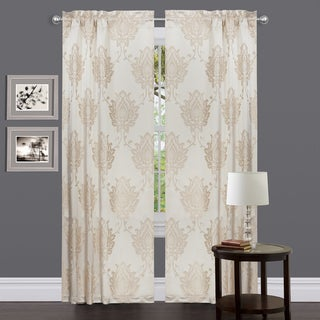 Medallion Classic Beige 84-inch Curtain Panel