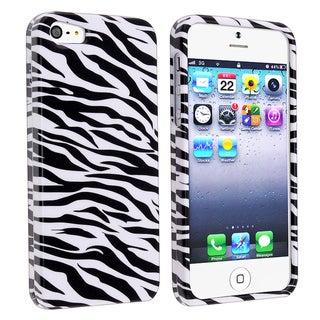 BasAcc Zebra Skin Snap-on Case for Apple iPhone 5