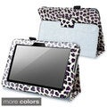 INSTEN Black Fabric Phone Case Cover with Stand for Amazon Kindle Fire HD 7-inch