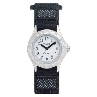Timex Kids' Outdoor Black Fast Wrap Strap Watch