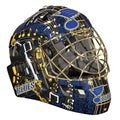 Franklin NHL Team St. Louis Blues SX Comp GFM 100 Goalie Face Mask