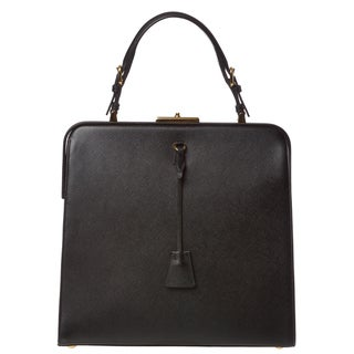 Prada 'BN1102 NZV F0002' Saffiano Lux Structured Leather Bag