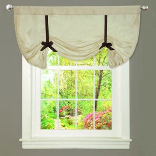 Lush Decor Lydia Beige Valance