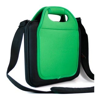 Kroo Green Notebook and Tablet Tote