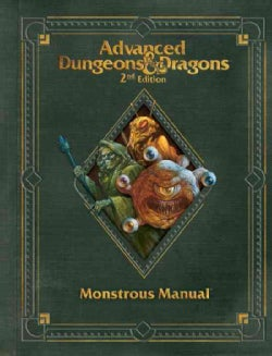 Advanced Dungeons & Dragons Monstrous Manual (Hardcover)