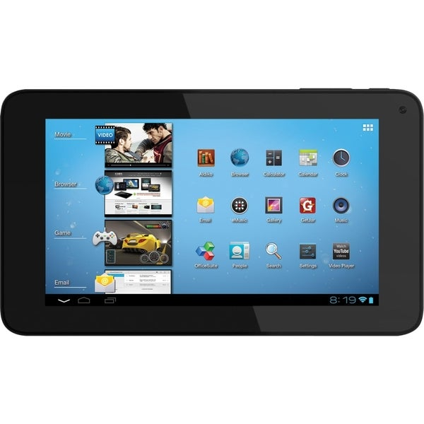 "Coby Kyros MID7048 4 GB Tablet - 7"" - Wireless LAN - Telechips Cortex"
