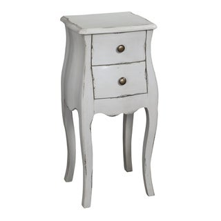 Creek Classics Antique White Accent Chest