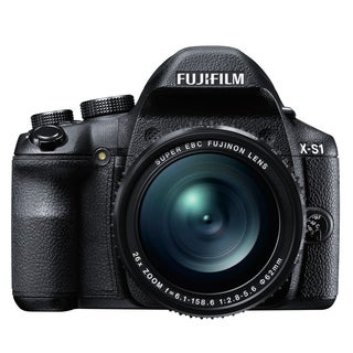Fuji Finepix X-S1 12MP Black Digital Camera