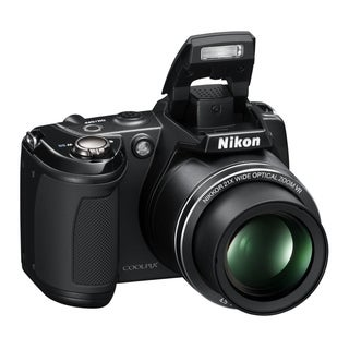 Nikon Coolpix L310 14MP Black Digital Camera