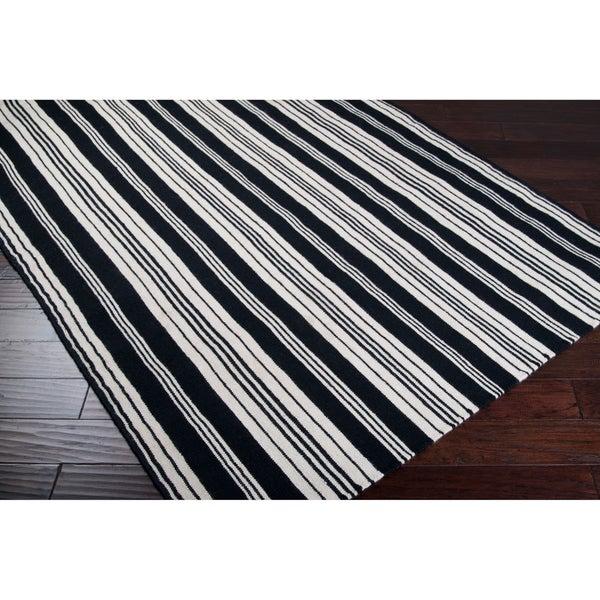 Jill Rosenwald Hand-woven Merrill Wool Rug