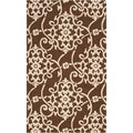 Hand-hooked Corvallis Indoor/Outdoor Floral Rug