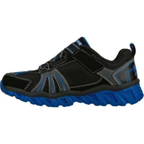 Boys' Skechers S Lights Pillar Black/Blue