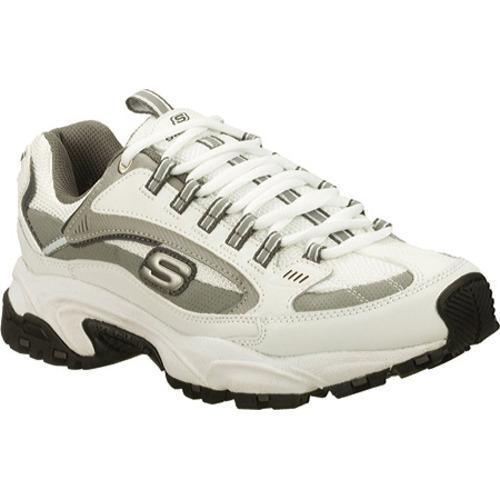 Men's Skechers Stamina Nuovo White/Gray