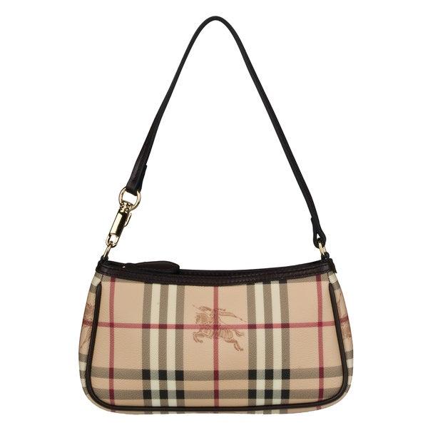 Burberry Small Haymarket Check Sling Bag