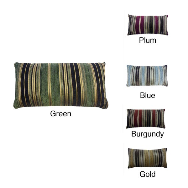 Berline Chenille Stripe 14 x 26 Decorative Pillow