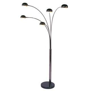 Mushroom Five-light Arc Floor Lamp
