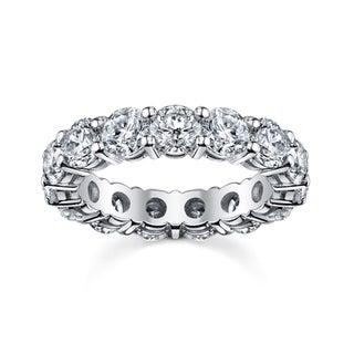 14k White Gold 2 1/2ct TDW Diamond Eternity Wedding Band (H-I, I1-I2)