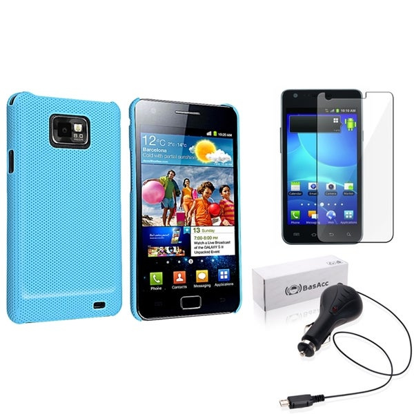 BasAcc Case/ Screen Protector/ Charger for Samsung© Galaxy S2 i9100