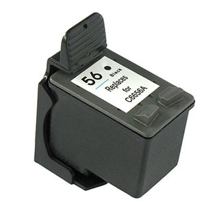 HP 56 Black Ink Cartridge (Remanufactured)
