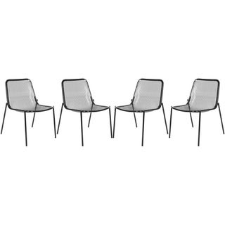 Safavieh Orion Black Side Chairs (Set of 4)