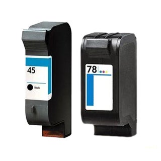 HP 45/78 51645A/C6578DN Ink Cartridges (Pack of 2) (Remanufactured)