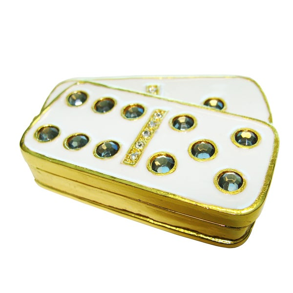 Objet d'art 'Domino' Trinket Box