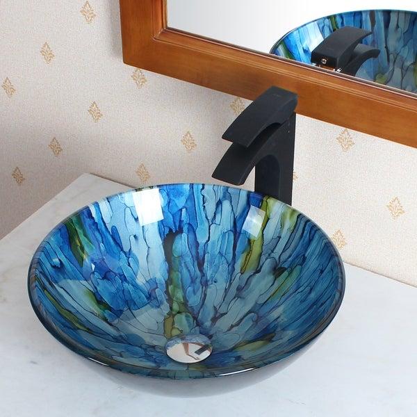 Elite Tempered Glass Vessel Sink