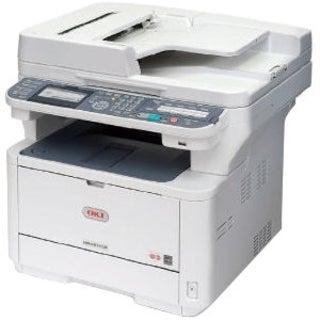 Oki MB491+ LED Multifunction Printer - Monochrome - Plain Paper Print