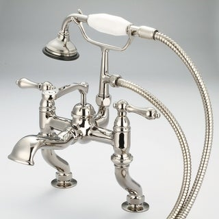 Water Creation Polished Nickel Vintage Classic Adjustable Faucet