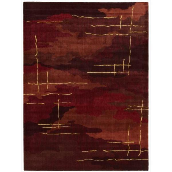 Nourison Parallels Abstract Multicolor Rug