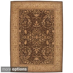 Nourison Hand-tufted Heritage Hall Brown Rug