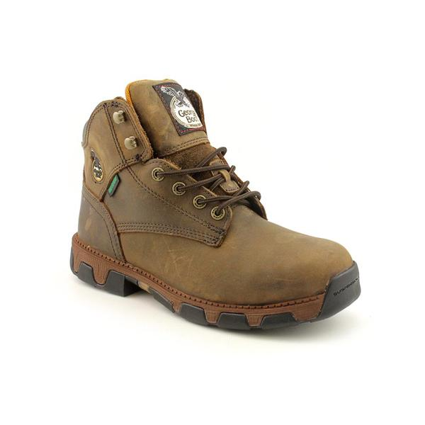 "Georgia Men's 'Mens 6""' Full-Grain Leather Boots Wide"