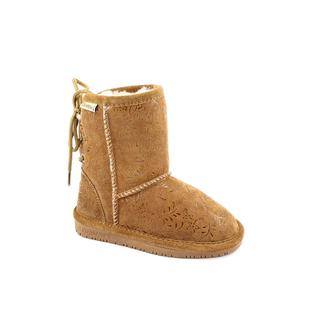 Bearpaw Girl's 'Ellie' Regular Suede Boots