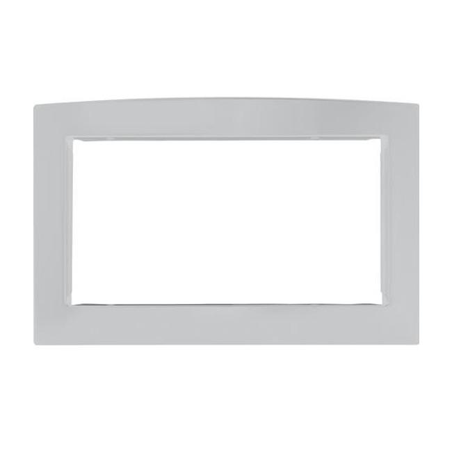 GE JX2030SMSS Stainless Steel 30-inch Deluxe Built-in Trim Kit for Countertop Microwave
