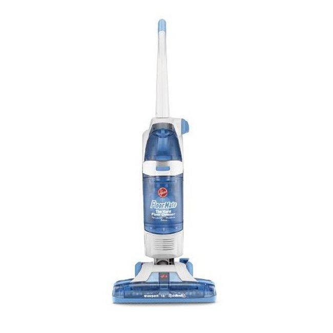 Hoover H3040 FloorMate SpinScrub Widepath Upright Hard-Floor Cleaner (Refurbished)