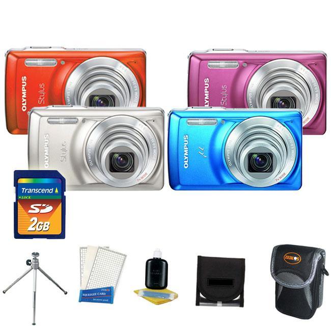 Olympus Stylus 7030 14MP Digital Camera with 2GB Kit (Refurbished)
