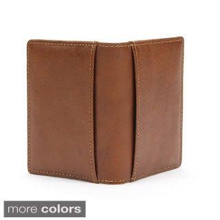 Prima Italiano Cognac Leather Weekend Wallet