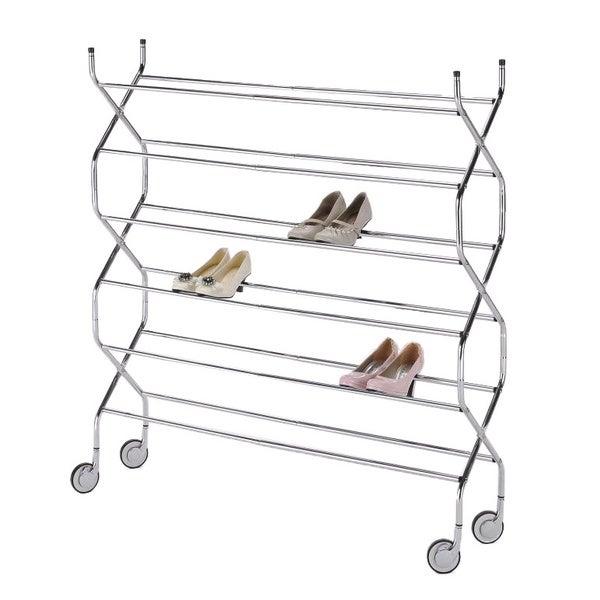 Criss Cross 6-tier Shoe Rack