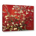 VanGogh 'Red Blossoming Almond Tree' Canvas
