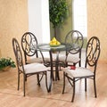 Lucianna Brown/ Beige Chairs (Set of 4)