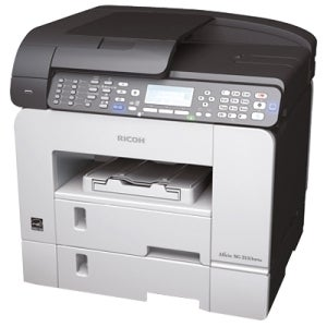 Ricoh Aficio SG 3100SNW GelSprinter Multifunction Printer - Color - P