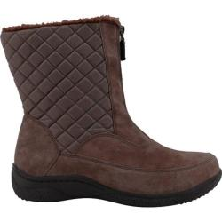Women's Propet Alta Mid Zip Brownie