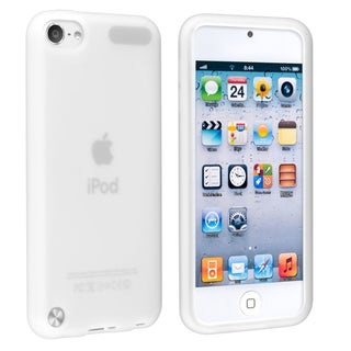 Insten Clear Silicone Skin Gel Rubber Case Cover For Apple iPod Touch 5th/ 6th Gen