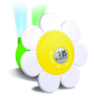 Discovery Kids Daisy Bloom Projection Alarm Clock