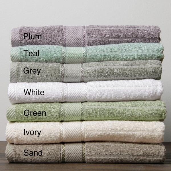 Doral Stripe Ringspun Cotton 5-piece Towel Set